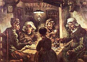 Πατατοφάγοι (πίνακας του Βαν Γκόνκ)