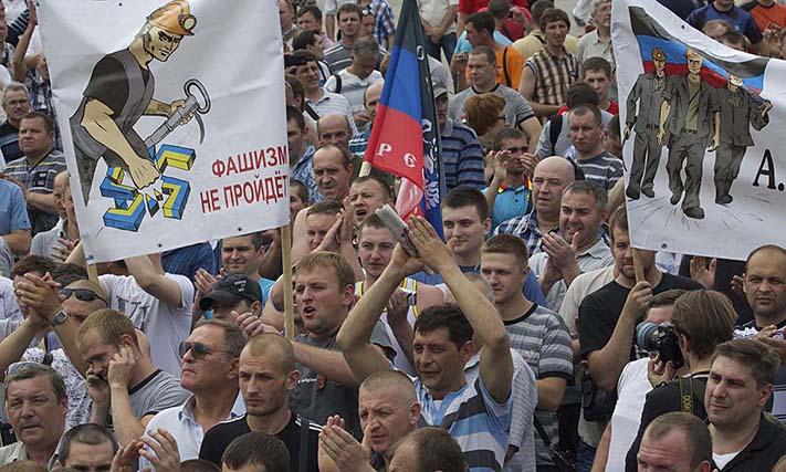 Μήνυμα του ΕΕΚ στο λαό της Λαϊκής Δημοκρατίας του Ντονέτσκ