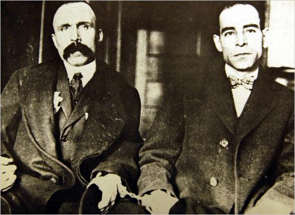 23 ΑΥΓΟΥΣΤΟΥ 1927: ΕΚΤΕΛΕΣΤΗΚΑΝ ΟΙ ΔΥΟ ΑΝΑΡΧΙΚΟΙ ΙΤΑΛΟΙ ΜΕΤΑΝΑΣΤΕΣ ΣΤΙΣ ΗΠΑ, NICOLA SACCO ΚΑΙ BARTOLOMEO VANZETTI.