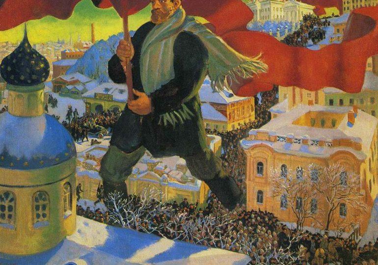 100 XPONIA ΑΠΟ ΤΗΝ  OKTΩBPIANH EΠANAΣTAΣH: Η μεγάλη έφοδος στον ουρανό των εργατών και καταπιεσμένων
