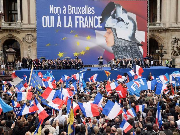 Οι εκλογές και η άνοδος της μπλε μαρίν πανούκλας