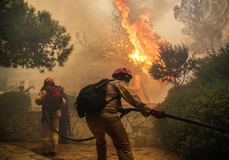 Ανακοίνωση για τις Πυρκαγιές στην Ελλάδα από την Εκτάκτη Ευρω-μεσογειακή Συνάντηση