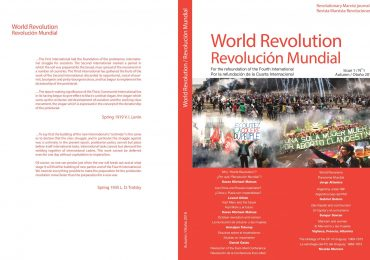 Διαδικτυακή έκδοση Revolutionary Marxist Journal World Revolution