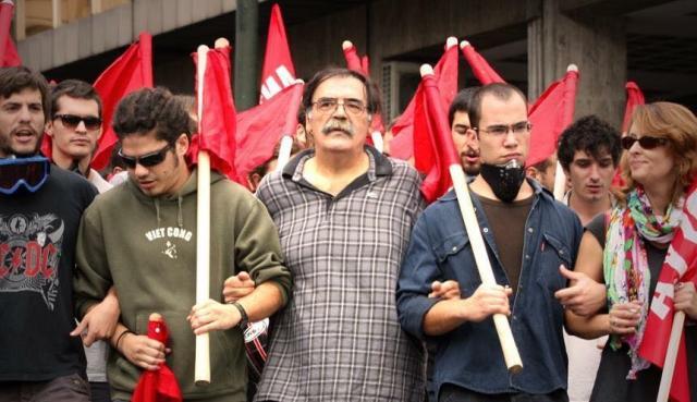 Ο σύντροφος Τάσος Κατιντσάρος ζει στους αγώνες μέχρι τη νίκη του κομμουνισμού