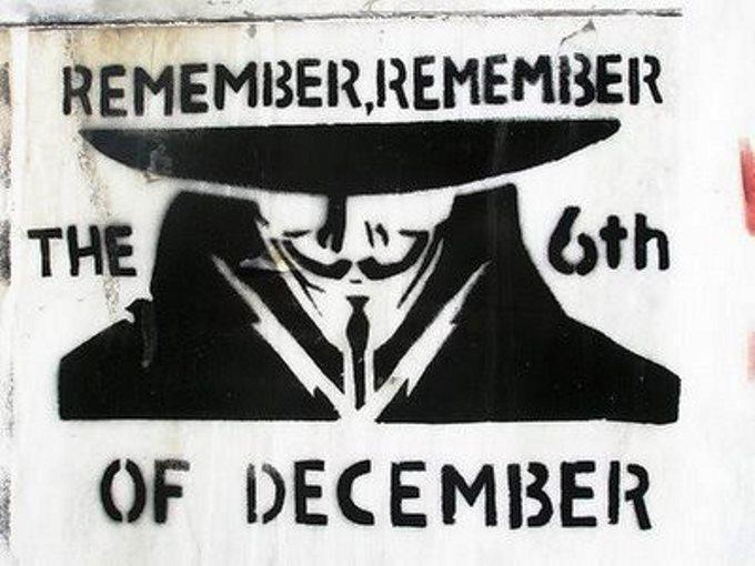 10 χρόνια μετά την εξέγερση του Δεκέμβρη 2008:  REMEMBER, REMEMBER THE 6th OF DECEMBER