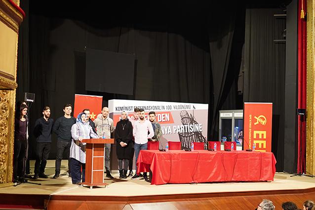 Συνδιάσκεψη για την 100ετηρίδα της Κομμουνιστικής Διεθνούς