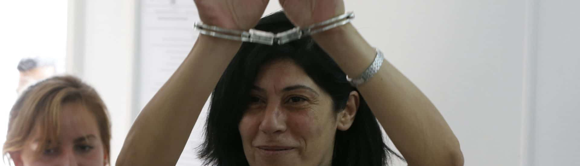 Η Παλαιστίνια Φυλακισμένη Khalida Jarrar