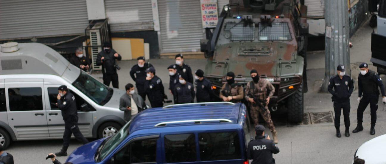 Σταμάτησαν την κηδεία του συντρόφου Ibrahim Gökçek
