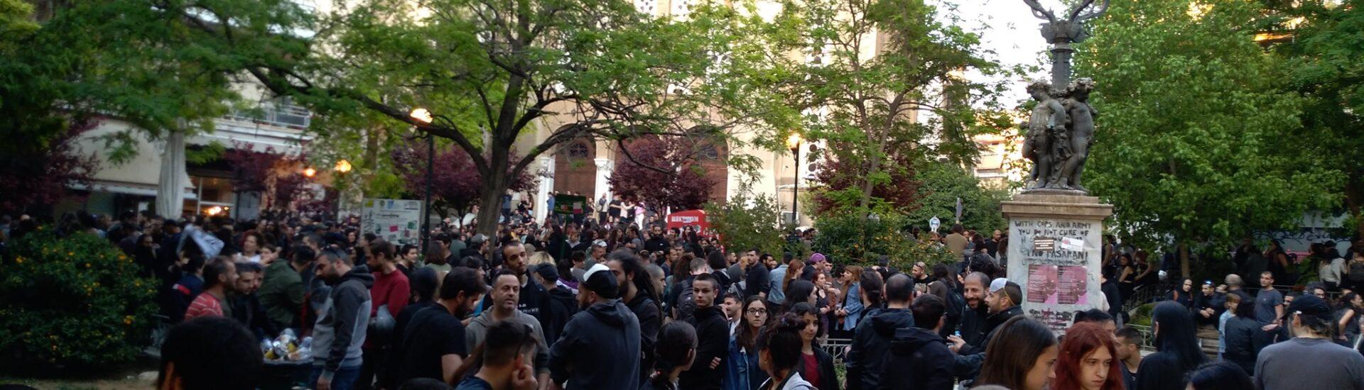 Κυψέλη: Χιλιάδες κόσμου διαδήλωσαν ενάντια στην αστυνομοκρατία