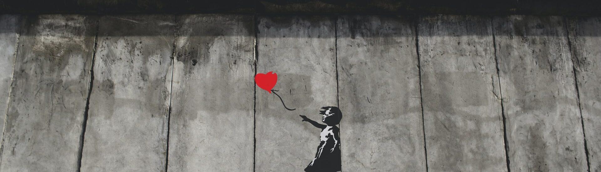Ο Banksy κατά του ρατσισμού
