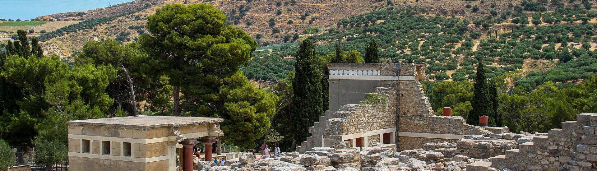 Το Διάζωμα και οι Αρχαιολογικοί χώροι των μινωικών ανακτόρων της Κρήτης