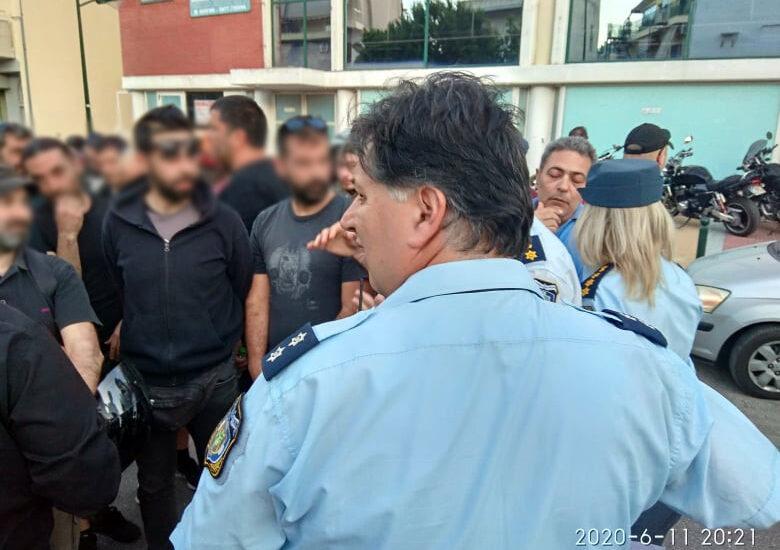 """Σκηνές """"Minneapolis"""" σε Αγ. Βαρβάρα: Προσαγωγές 40+ διαδηλωτών/τριών!"""