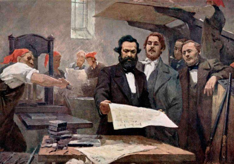 """Ο Μαρξ και η """"Νέα Εφημερίδα του Ρήνου""""(1848-1849)"""