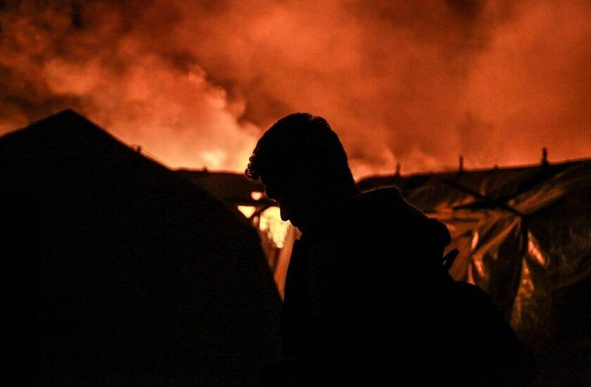 Πορεία για την πυρκαγιά στην Μόρια – κάλεσμα του ΣυΠροΜε