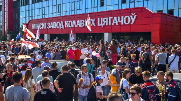 Η Λευκορωσία σε αναταραχή