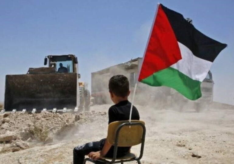Η μεγαλύτερη επιχείρηση κατεδάφισης  στη Δυτική Όχθη