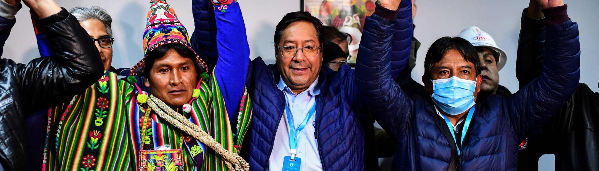 Ο Έβο Μοράλες ξανά στη Βολιβία