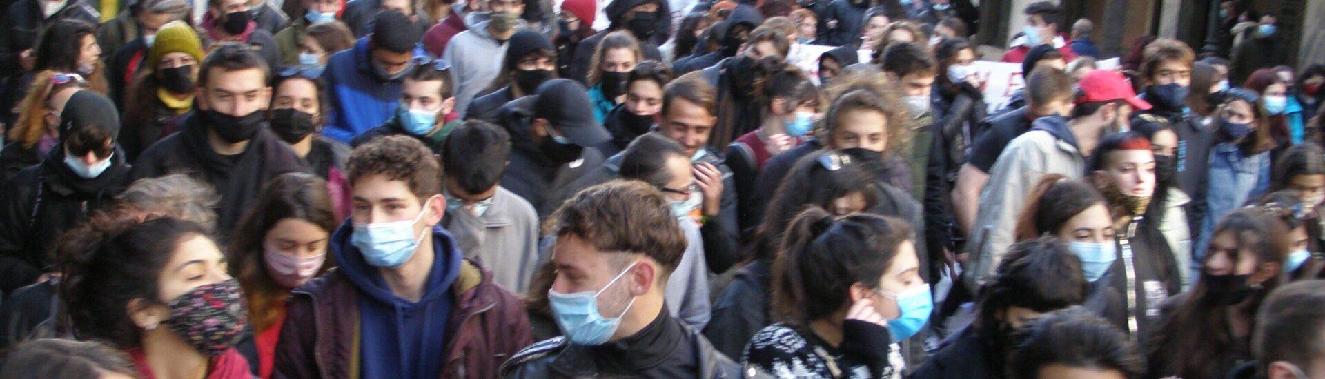 Διαδήλωση χιλιάδων φοιτητών & εργαζομένων στην Αθήνα σπάει την αστυνομική απαγόρευση