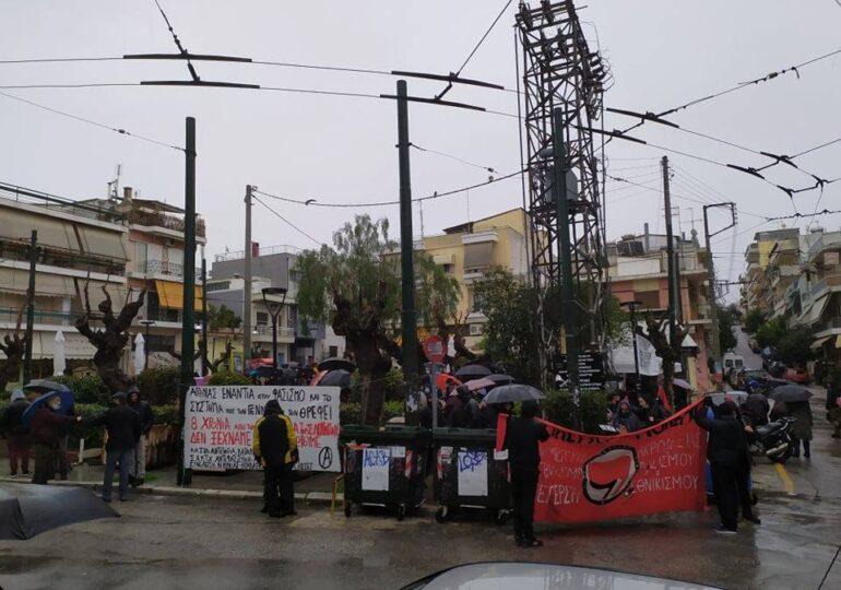 Πετράλωνα: Ρεπορτάζ από τη συγκέντρωση στον Σαχζάτ Λουκμάν