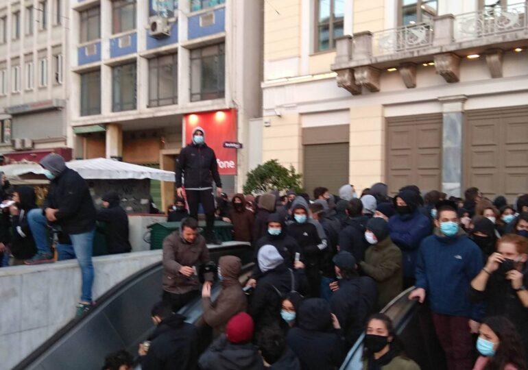 Δολοφονικές αστυνομικές επιθέσεις φόντο στην κρατική δολοφονία του Δημήτρη Κουφοντινα