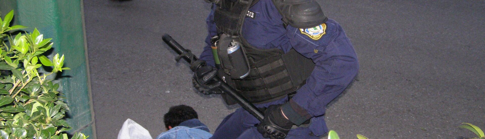 Πανεπιστημιακή Αστυνομία με Επαγγελματίες Στρατιώτες και μέλη των Ειδικών Δυνάμεων