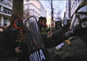 Καταγγελία για την επίθεση των ΜΑΤ σε φωτορεπόρτερ