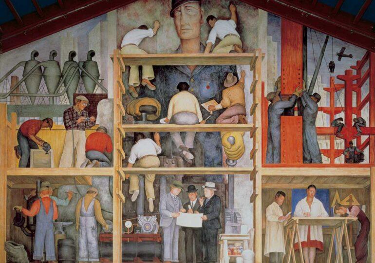 Σαν Φρανσίσκο: Προς πώληση διάσημη τοιχογραφία του Ντιέγκο Ρίβερα;