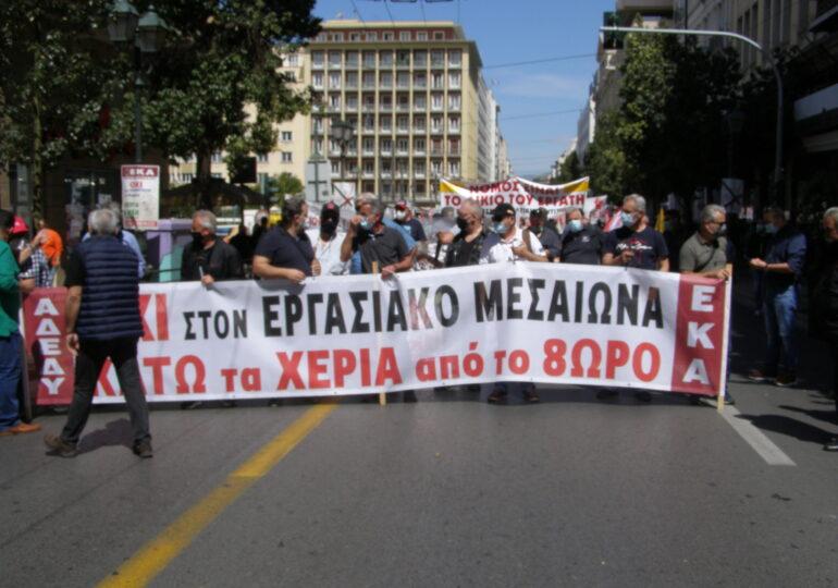 Τα σωματεία στη μάχη για την απεργία στις 3 Ιουνίου