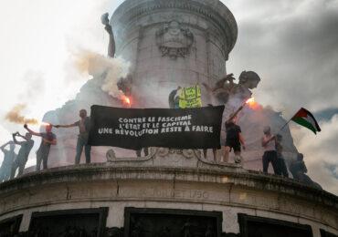 Εκατοντάδες χιλιάδες διαδήλωσαν στη Γαλλία ενάντια στο Φασισμό και την Ακροδεξιά