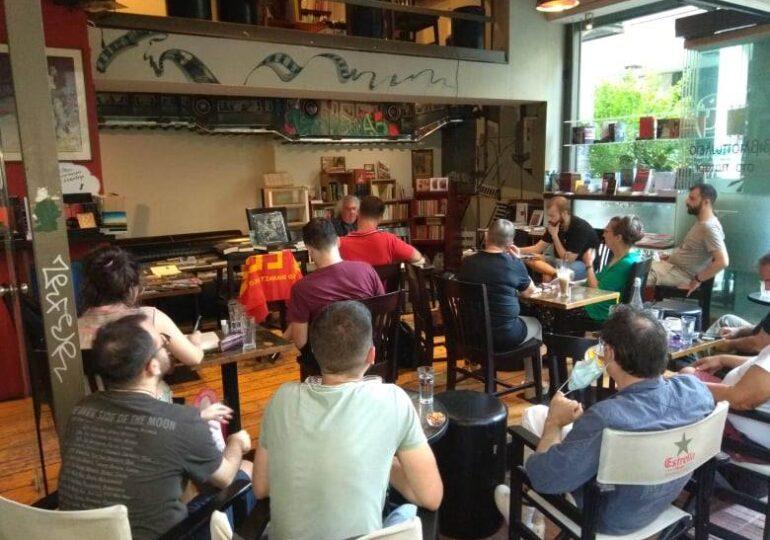 Την Πέμπτη15/7 δεύτερη ομιλία του Σάββα Μιχαήλ στη Λοκομοτίβα