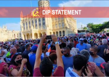 Ανακοίνωση του DIP για την Κούβα: Υπερασπιστείτε το τελευταίο προπύργιο του σοσιαλισμού του 20ού αιώνα!