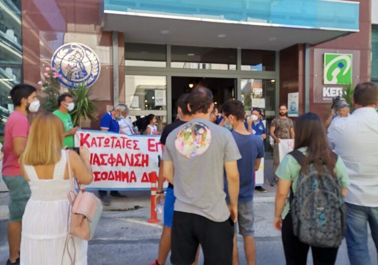 Πορεία διαμαρτυρίας αγροτών στην Τρίπολη