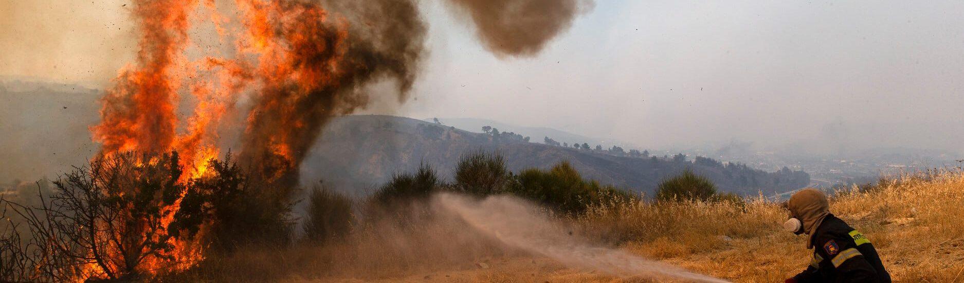 """Το """"αποτελεσματικό"""" επιτελικό Κράτος και οι καταστροφικές πυρκαγιές!"""