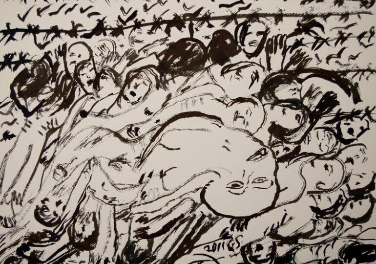 H Τσιγγάνα που ζωγράφισε τη φρίκη του Άουσβιτς - Μπιρκενάου