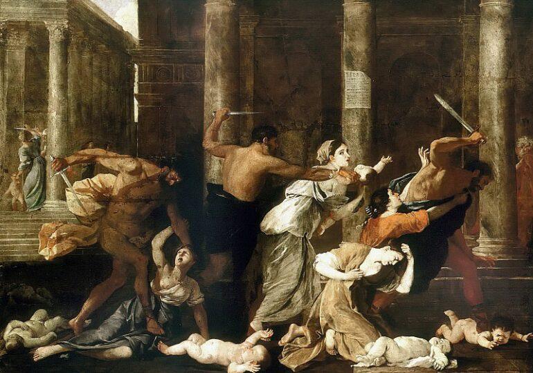 Κάτια Γέρου: Σφαγή των Αθώων (Τίτλος πίνακα του Nicolas Poussin)